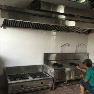 Bếp công nghiệp nhà hàng