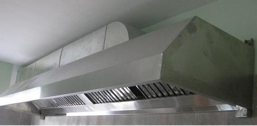 Máng khói công nghiệp được sử dụng rộng rãi trong các bếp ăn công nghiệp hiện nay