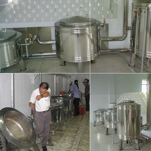 Nắm rõ nguyên tắc để đảm bảo an toàn khi nấu bằng nồi hơi nấu cơm nấu canh