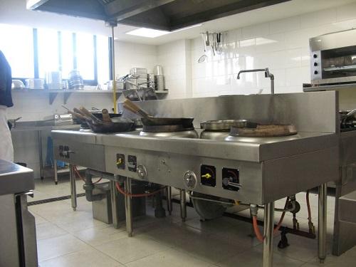 Bếp công nghiệp cho nhà hàng
