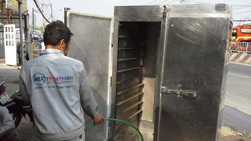 Tủ cơm công nghiệp bảo quản và vệ sinh dễ dàng