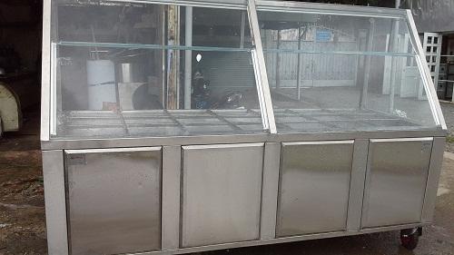 Tủ hâm nóng thức ăn dạng khay tại inoxtoanthinh.com