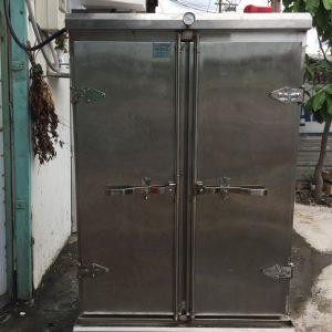 Tủ cơm 100 kg vừa điện vừa gas