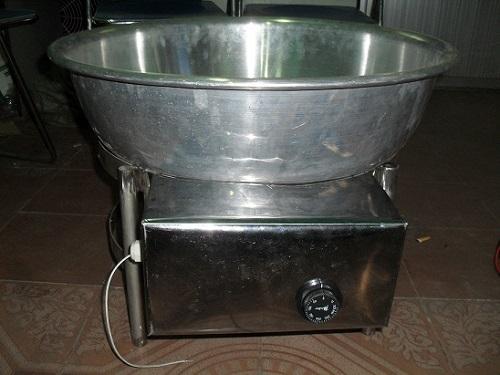 Chảo xào điện công nghiệp thích hợp để rang cơm, nấu các món xào