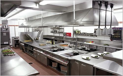 Mẫu bếp ăn nhà hàng chuyên nghiệp, bài bản hiện nay