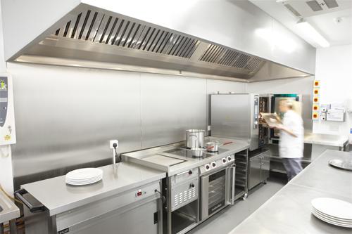 Bố trí bếp nhà hàng kiểu phân khu