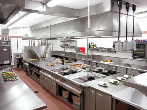 Bếp nhà hàng bằng inox