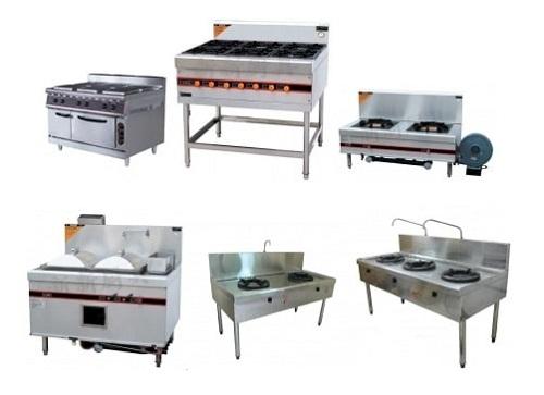 Các thiết bị trong bếp ăn công nghiệp được gia công từ inox 304