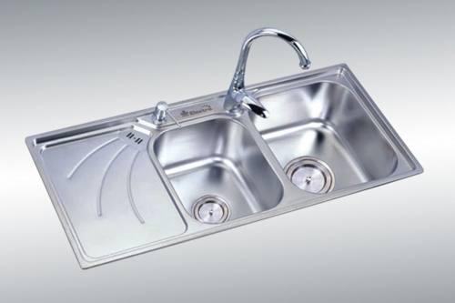 Chậu rửa inox 304 mang đến vẻ sang trọng, an toàn khi sử dụng